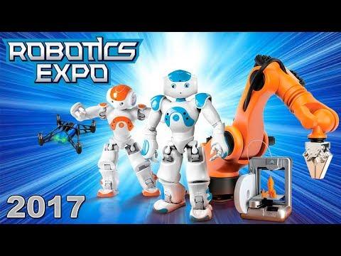 Роботы, трансформеры, летающий спиннер, Lego! Выставка роботов Robotics Expo 2017