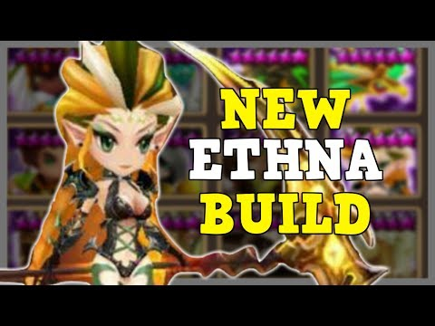 Testing New Hybrid Build for Ethna in Guild Wars!    Summoners War