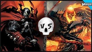Spawn VS Ghost Rider: Epic Battle!