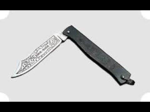 Нож дук-дук. видеообзор.
