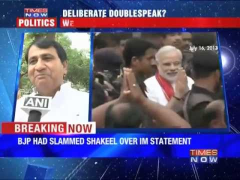 Shakeel Ahmed hits back at BJP
