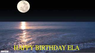 Ela  Moon La Luna - Happy Birthday
