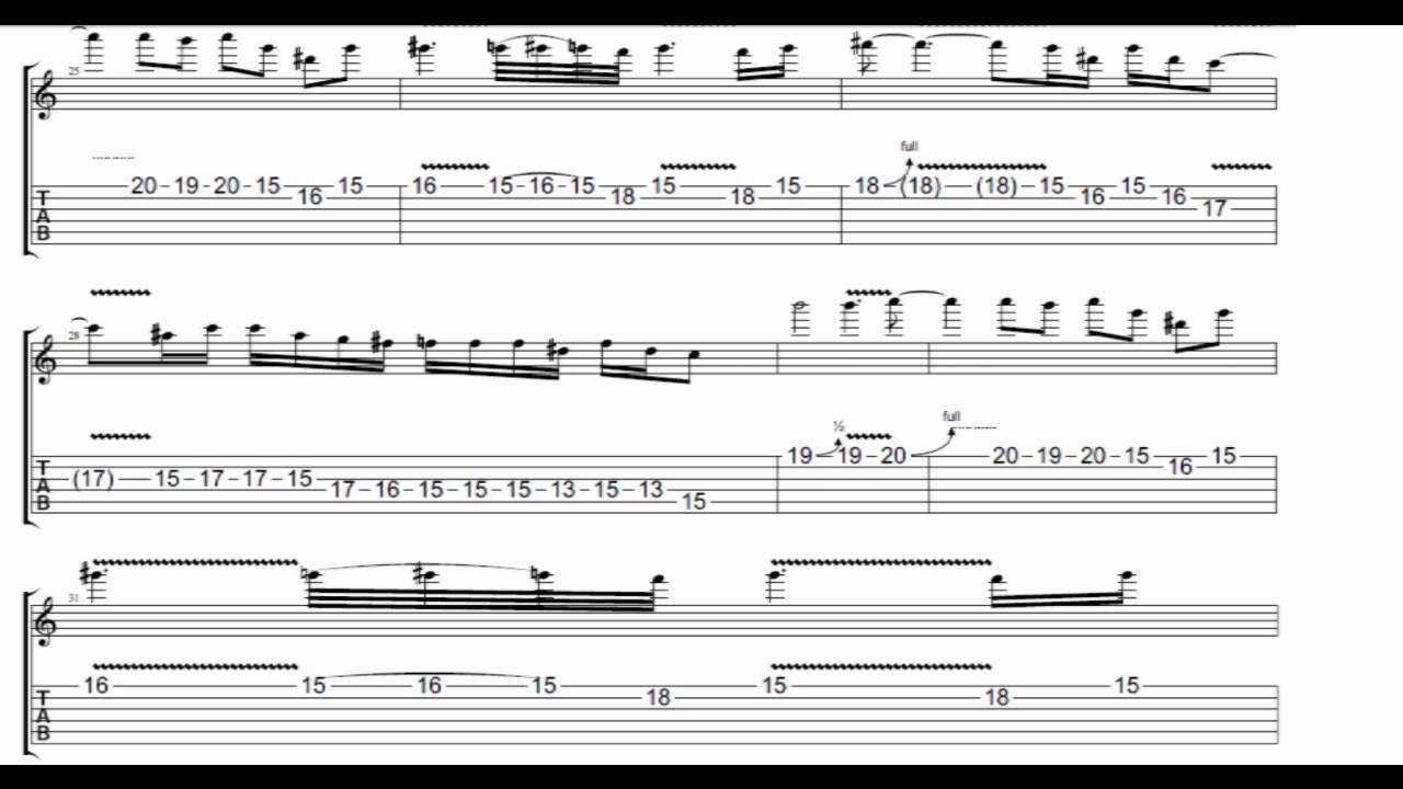 November Rain Guitar Chords