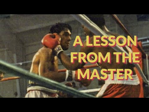 Roberto Duran: A Lesson from the Master