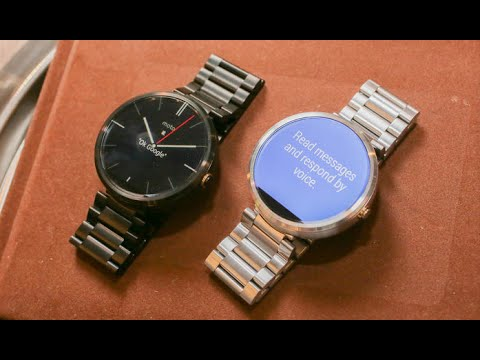 MOTO 360 Review! How to: setup. connect. reset. full review