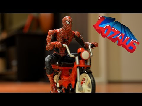 SPIDERMAN  STOP MOTION TUTORIAL STEP 3