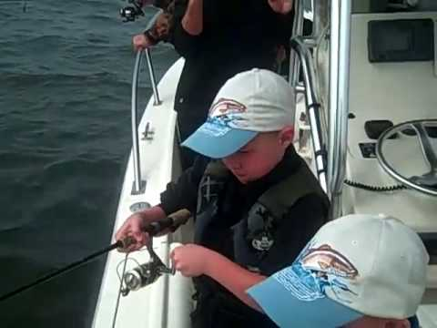 Kids Fishing with Capt. Brook | Anna Maria Florida Fishing Charters | Sarasota Fishing