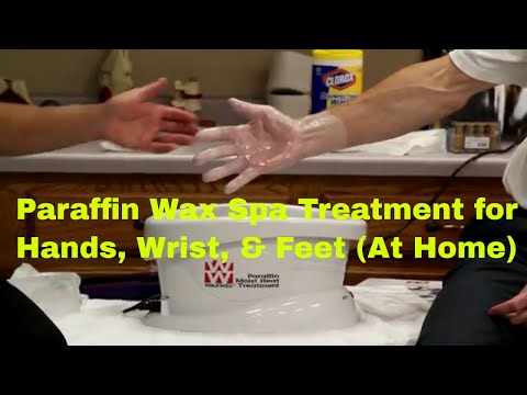 Paraffin Wax Spa Treatment for Hands. Wrist. Feet (At Home)
