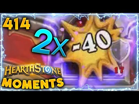 80 DMG Priest in One Turn..!! | Hearthstone Un'Goro Daily Moments Ep. 414 (Funny and Lucky Moments)