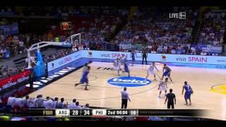 Argentina vs Philippines FIBA World Cup 2014 Group B