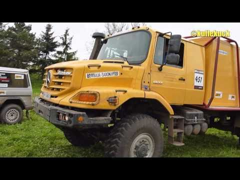 Mercedes-Benz Zetros at Baja-Saxonia Music Videos