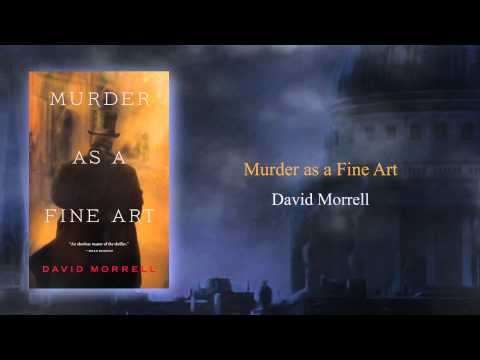 MURDER AS A FINE ART book video