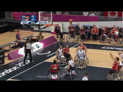 Wheelchair Basketball - GER vs CAN - Men's Preliminaries  - London 2012 Paralympic Games