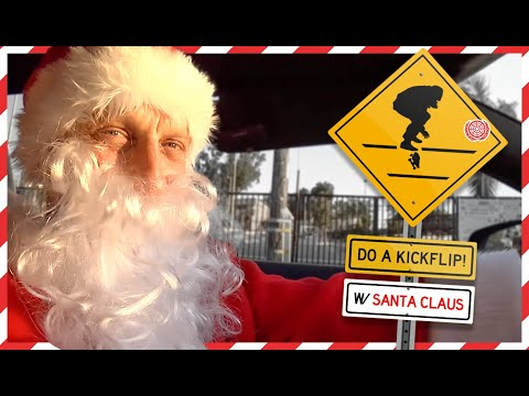 "Secret Santa Tony Hawk ""DO A KICKFLIP!"" Christmas Special"