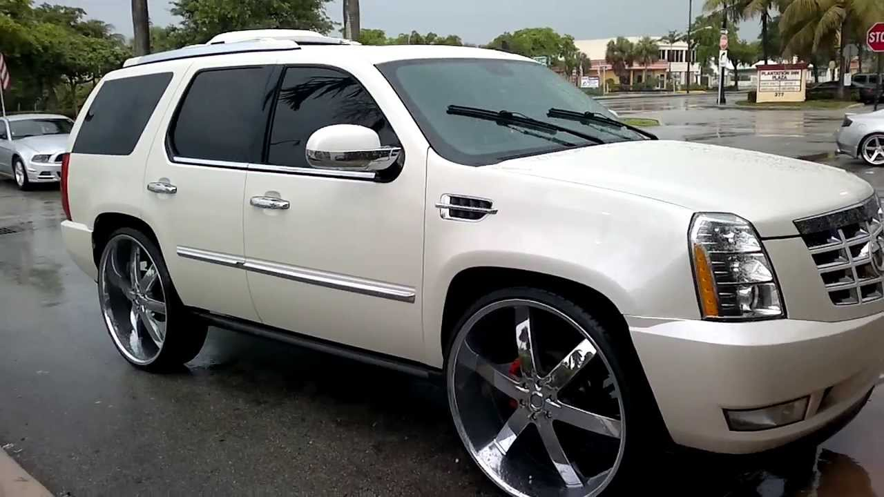 Cadillac Escalade sittin on 30s at C2c Rims, Fort Lauderdale, FL