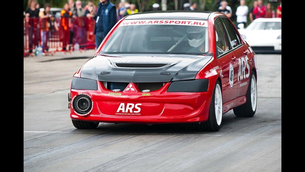 Mitsubishi Lancer Evolution ARS 1 4 Mile 9734 Sec 1