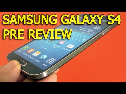 Samsung Galaxy S4 I9505 Pre Review in Limba Romana - Mobilissimo.ro