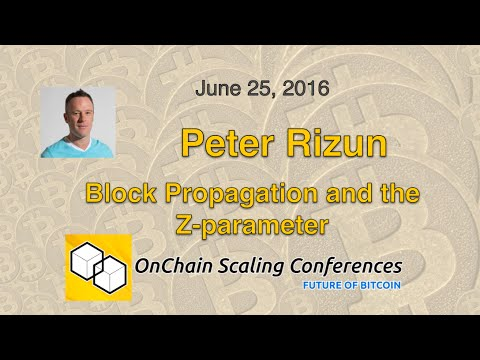 Dr. Peter Rizun - Block Propagation and the Z-parameter [video]