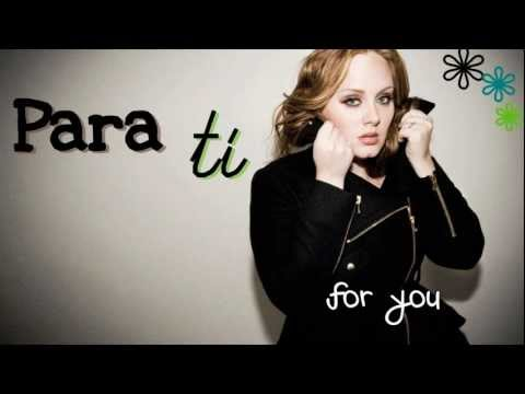 Someone Like You - Adele (Traducida al Español)
