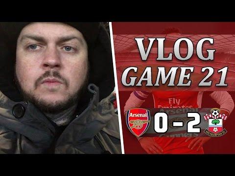 Arsenal 0 v 2 Southampton   DISGUSTING PERFORMANCE!   Matchday Vlog   Game 21
