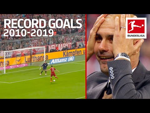 Top 10 Best Record-Breaking Goals of The Decade 2010-2019 - Lewandowski, Volland, Alcacer amp More