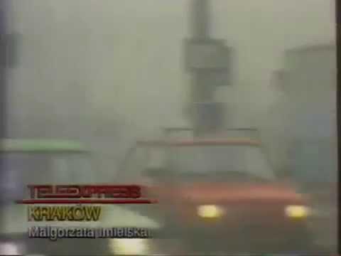 Smog W Krakowie - 1992 Rok
