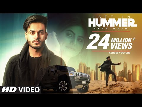 Jatt In Hummer: Arsh Maini (Official Song) | Goldboy | New Punjabi Songs 2017