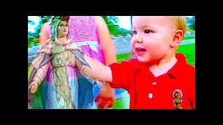 TODDLER SEES VISION OF VIRGIN MARY!!! | Day 1918 - TheFunnyrats