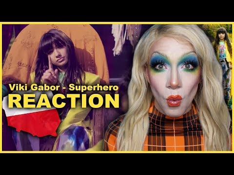 POLAND - Viki Gabor - Superhero | Junior Eurovision 2019 REACTION