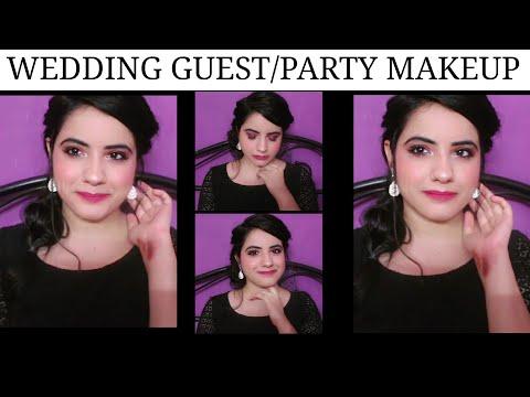INDIAN WEDDING MAKEUP-STEP BY STEP IN HINDI|PARTY/ SANGEET/RECEPTION/MEHENDI MAKEUP|SHALLY CORNER