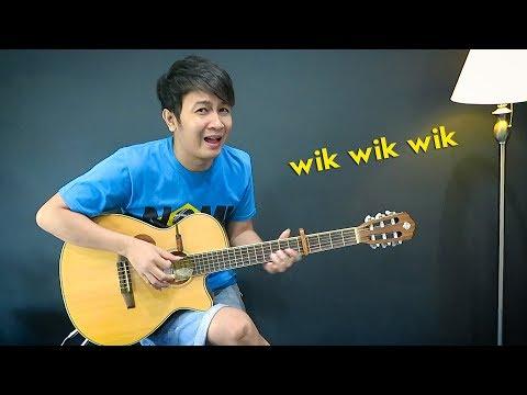 (Lagu Viral) Wik Wik Wik - Nathan Fingerstyle   Parodi Lirik Makanan Indonesia   Lagu Thailand