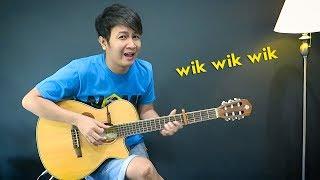(Lagu Viral) Wik Wik Wik - Nathan Fingerstyle | Parodi Lirik Makanan Indonesia | Lagu Thailand