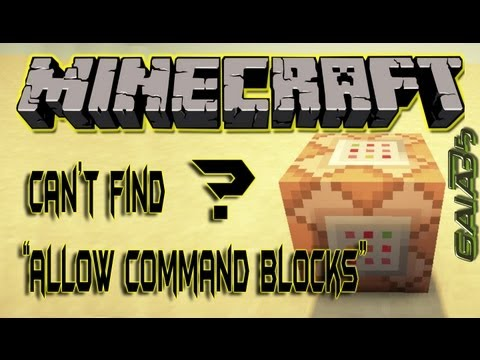 EASY! how to find enable command blocks in minecraft server.properties