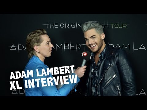 Adam Lambert XL interview