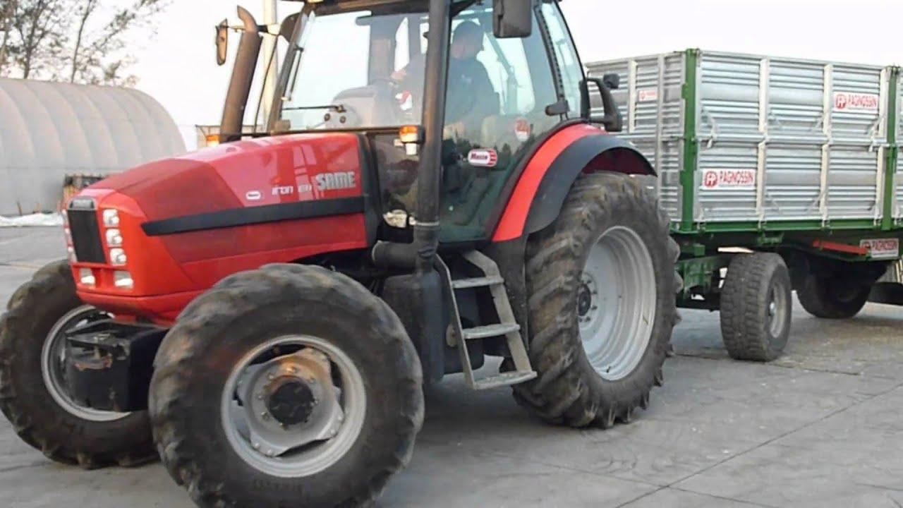 Video same iron 130 con rimorchio pagnossin pa140rap youtube for Selvatico rimorchi agricoli