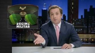 GREG NEWS com Gregório Duvivier | REGIME MILITAR