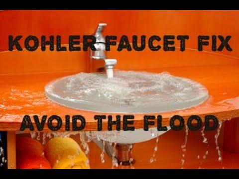 Kohler Bathroom Faucet - Cartridge Replacement