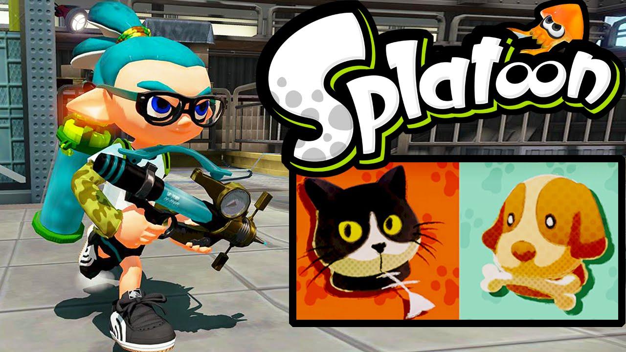 New Update Splatfest Cats vs