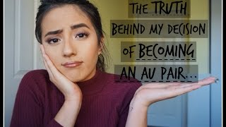 AU PAIR VLOG 19. Was I a prostitute!!? [The truth behind my decision of becoming an au pair]