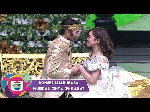 Lesty Akhirnya Bertemu Rizki.. Yaa Fildan & Ridho Rhoma Patah Hati Deh – Musikal Cinta 24 Karat