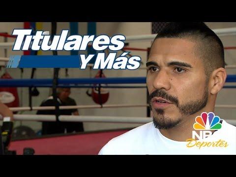 Entrevista exclusiva con el boxeador argentino Jesús Cuellar | Titulares y Más | NBC Deportes