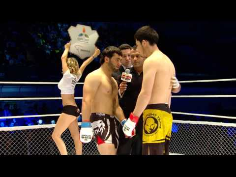 2014 WMMAA Asian Championship middleweight finals