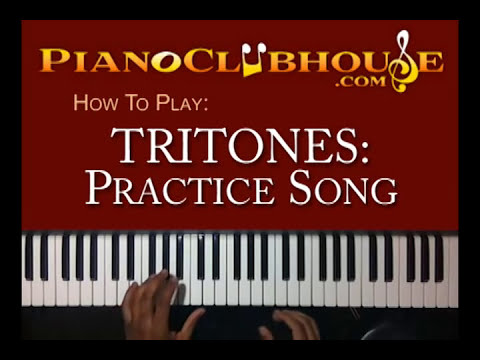 TRITONES: Song (3 of 4) - easy gospel piano ♫
