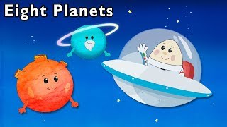 Eight Planets + More | Mother Goose Club Nursery Rhymes
