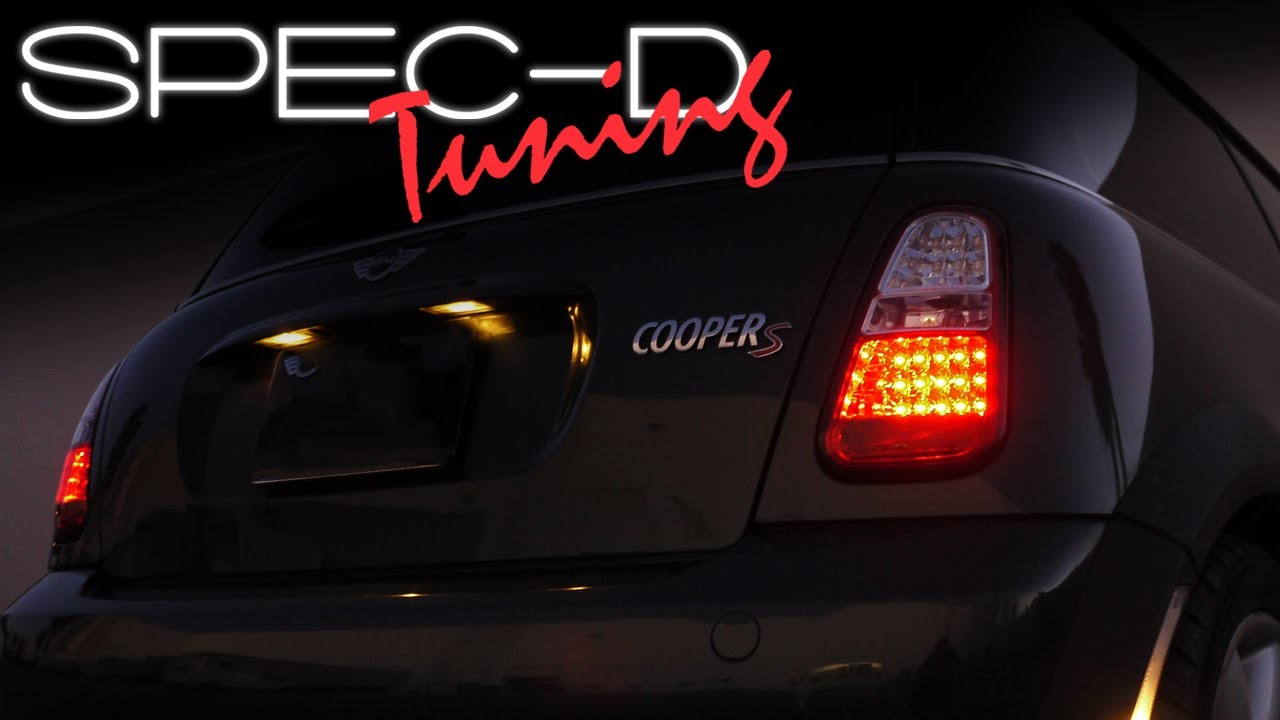 Specdtuning Installation Video 2005 2006 Mini Cooper