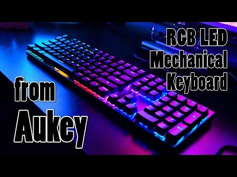 Aukey KM-G3 Mechanical Keyboard Review