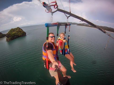 The Ultimate Week In Langkawi Malaysia - Parasailing, Jet Skiing, Mangrove Tour & More