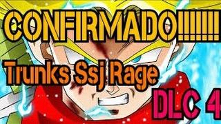 CONFIRMADO!!!! Trunks SSJ Rage/ SSJ Blue falso//Fusion Zamas Dragon Ball Xenoverse 2 DLC 4