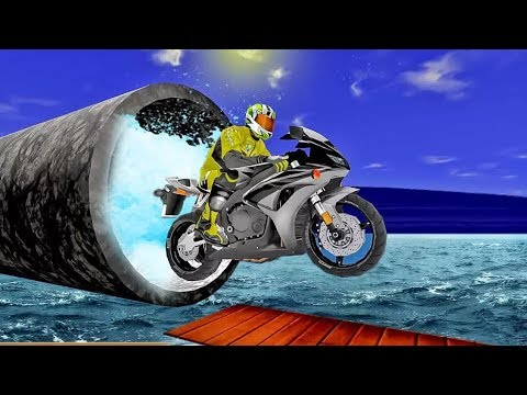 Bike STUNT RACING ADVENTURE - HD Android - Extreme Bike Games For Kids - Girls - Baby | Motorbike