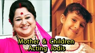 Download Real Life Mother & Children Acting Jodis Of Indian Televsion 3Gp Mp4